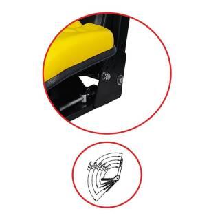 John Deere 2030 2130 2230 2330 2430 2530 2630 Schleppersitz gelb passend Traktor