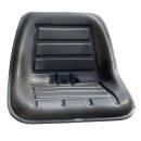 Sitzschale KS 470 PVC Schwarz  470mm BREIT