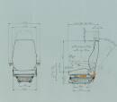 ISRI 6500/517 Stoff Komfort - Bedienung links...