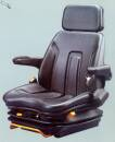 ISRI 2300 LR PVC Fahrersitz mit Gurt Spurbreite 320mm