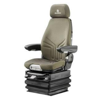 ACTIMO XXL Stoff New Design (gelb/schwarz) 12V Sitzbreite 490mm MSG 97 AL /722 Grammer