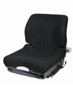 MSG 20 Stoff schwarz inkl. Gurtlaschen u. Sitzkontaktschalter 470 mm Standardversion Grammer