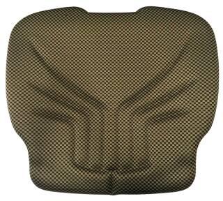 GRAMMER Sitzpolster Stoff gelb schwarz extrabreit 550mm ohne Klimasystem