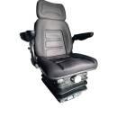 Schleppersitz Traktorsitz Sitz Stoff mit Armlehnen und...