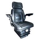 Schleppersitz Traktorsitz Sitz PVC mit Armlehnen und...