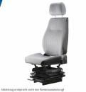 Multicar Sitz MSG 418/90 mechanisch, 216mm Spurmaß